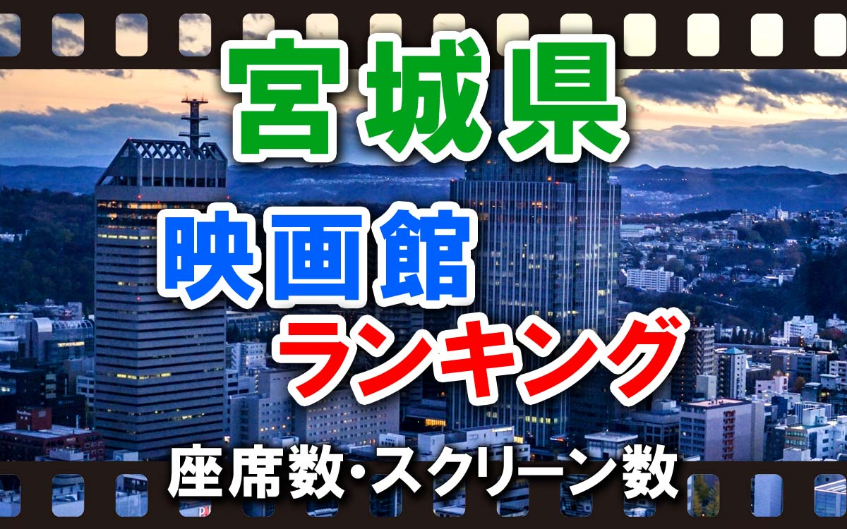宮城県の映画館ランキング