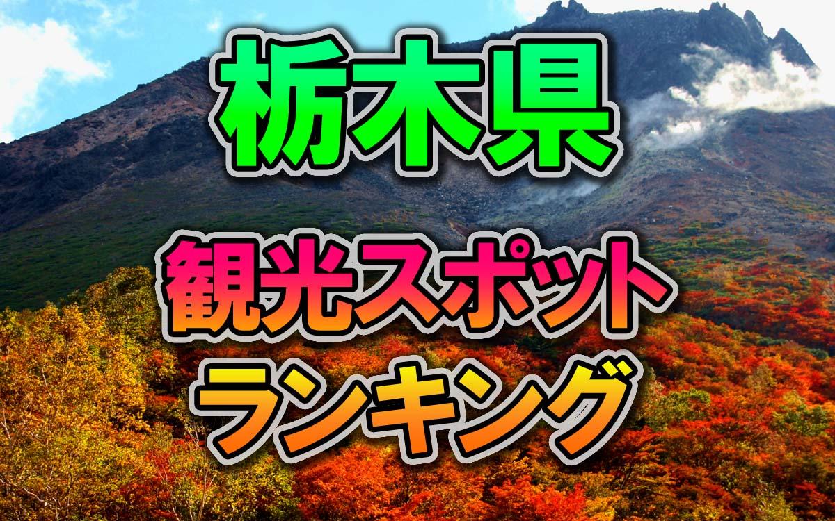 栃木県の行ってみたい観光スポットランキング