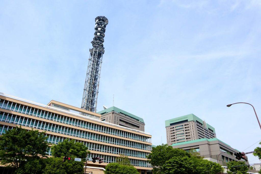 タワーランキング 防衛省市ヶ谷無線鉄塔