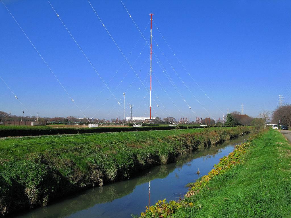 NHK菖蒲久喜ラジオ放送所 第2放送アンテナ