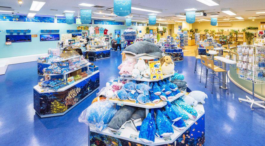 アンテナショップ 沖縄美ら海水族館アンテナショップ「うみちゅらら」国際通り店