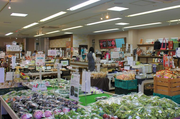 栃木市アンテナショップ まちの駅コエド市場