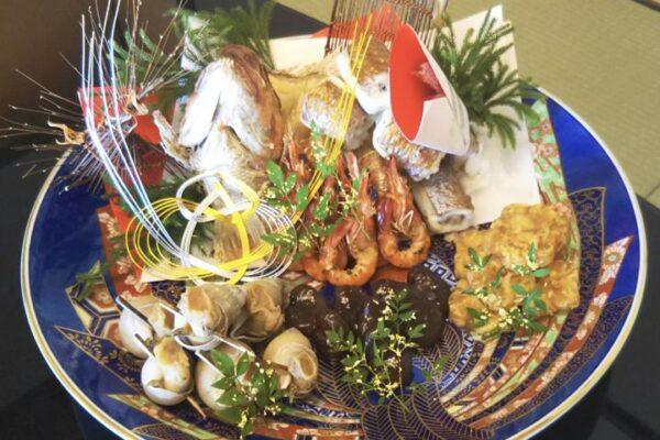 加賀料理 鯛の唐蒸し